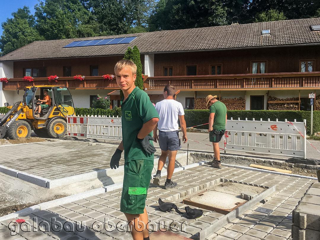 Belagsarbeiten Galabau Oberbauer